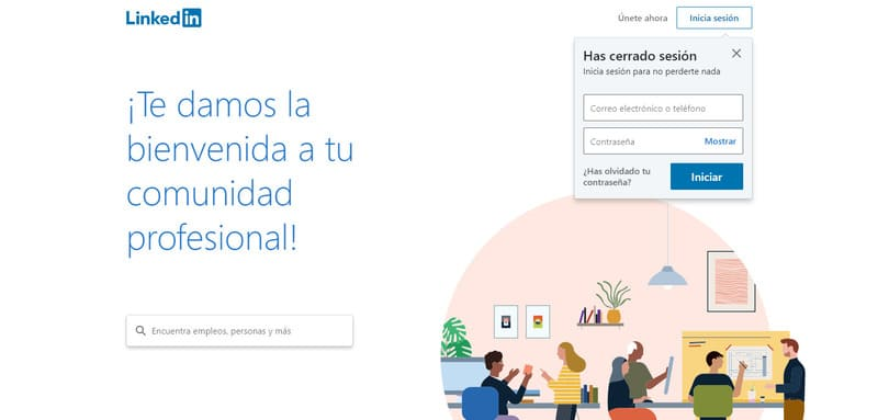 encontrar empleo en mexico con linkedin