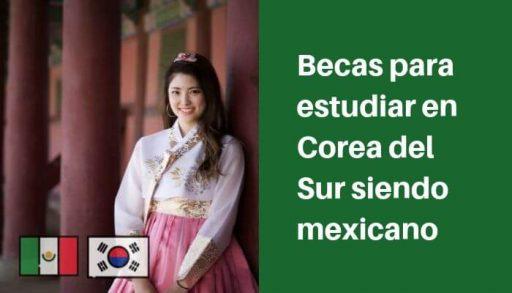 becas para estudiar en corea del sur