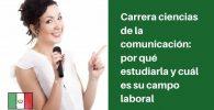 carrera ciencias de la comunicacion donde estudiar