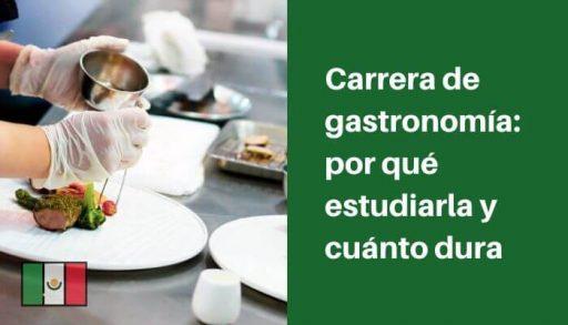 carrera de gastronomia en mexico