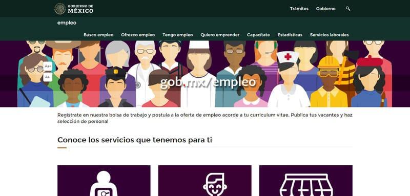 bolsa de empleo online del gobierno de mexico
