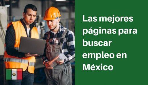 mejores paginas buscar empleo en mexico